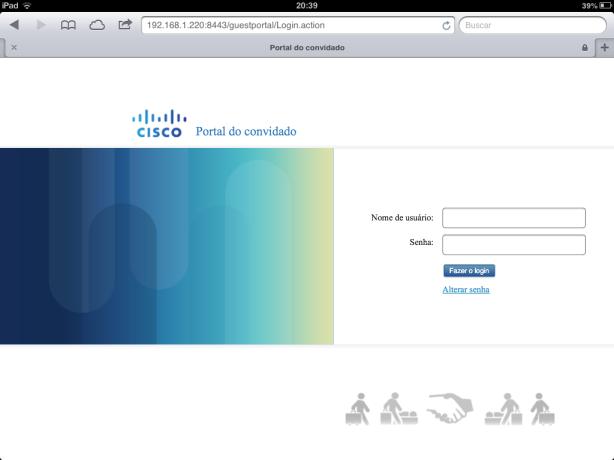 Guest Portal iPad